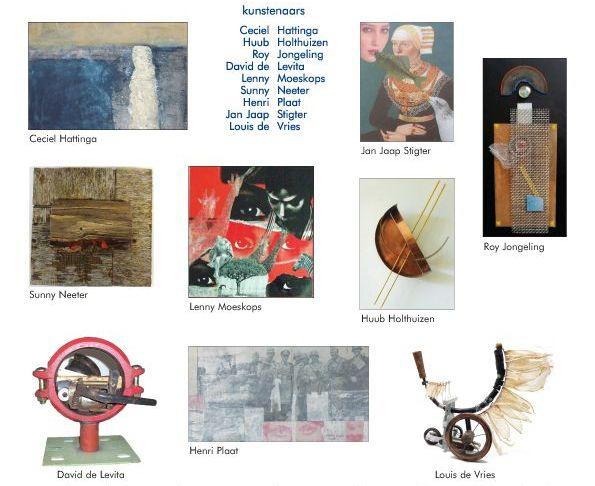 Tentoonstelling Collages – Galerie S – 21 september t/m 5 oktober 2014